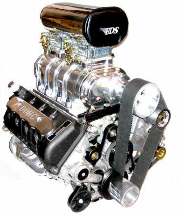 moteur avec compresseur