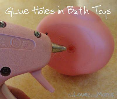 nettoyer jouets de bain moisis