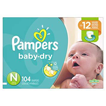 new baby pampers