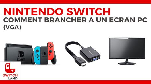 nintendo switch ecran pc