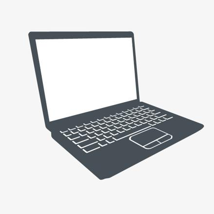 ordinateur portable dessin