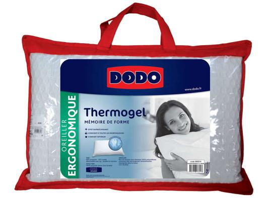 oreiller dodo thermogel