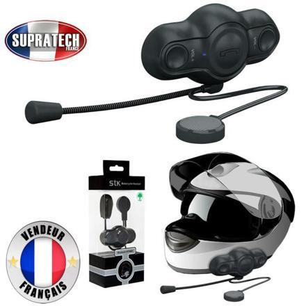 oreillette bluetooth pour casque moto