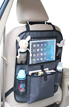 organiseur voiture avec tablette