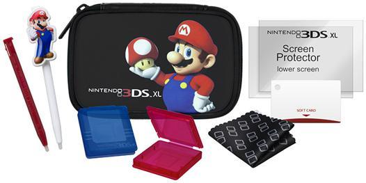 pack accessoire 3ds xl mario