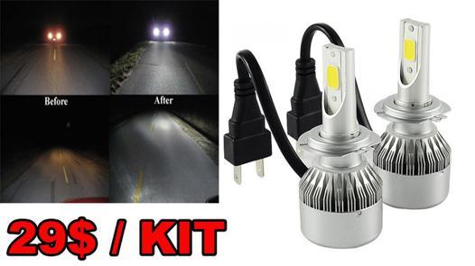 pack ampoule led voiture