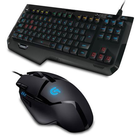 pack clavier souris gamer logitech