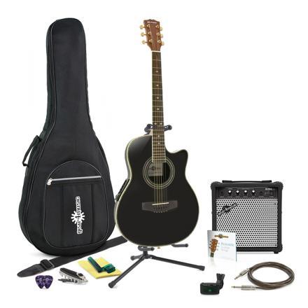 pack guitare electro acoustique