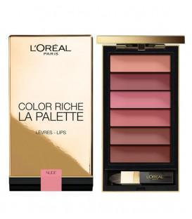 palette lèvres l'oréal