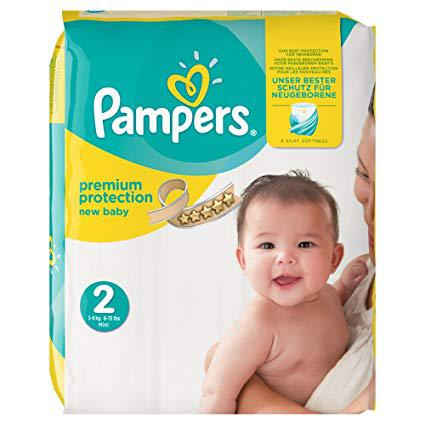 pampers taille 2