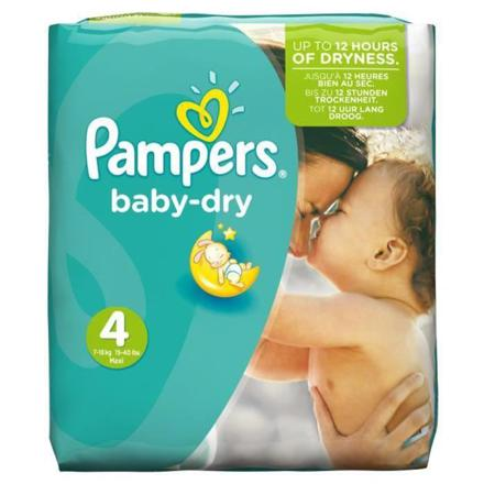 pampers taille 4