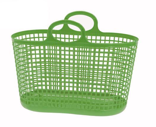 panier courses plastique