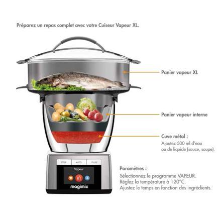 panier vapeur xl cook expert