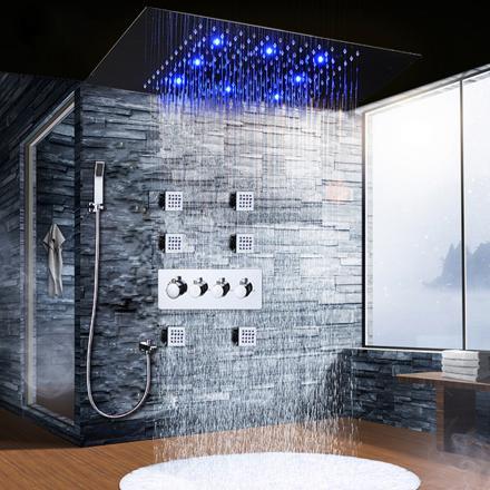 panneau led douche