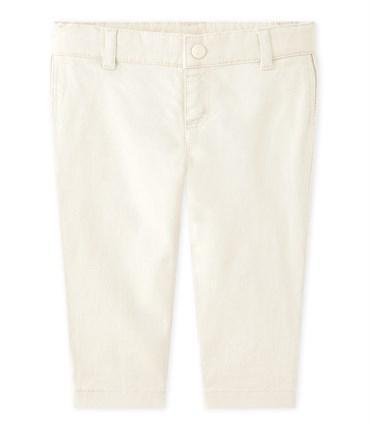 pantalon blanc bébé garcon
