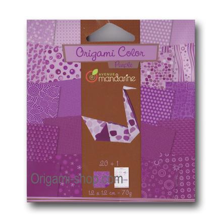 papier origami gris