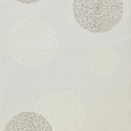 papier peint blanc et gris