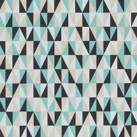 papier peint motifs geometriques