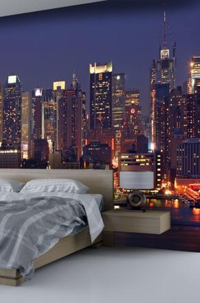 papier peint new york pour chambre