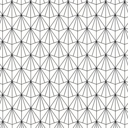 papier peint noir et blanc graphique
