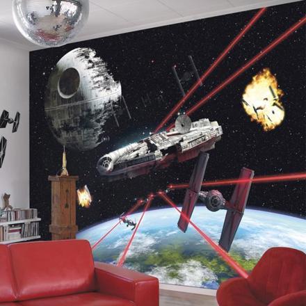 papier peint star wars