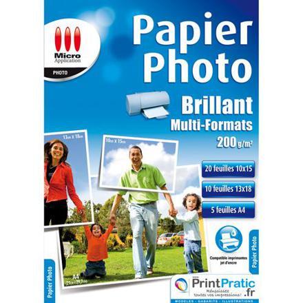 papier photo imprimante