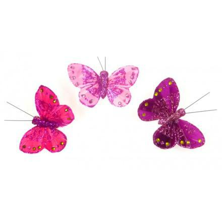 papillon aimant rideau