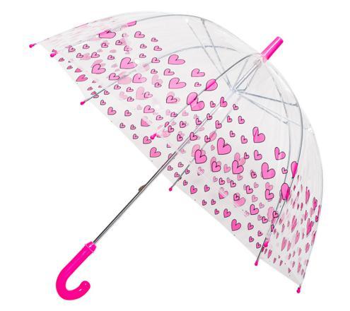 parapluie transparent fille