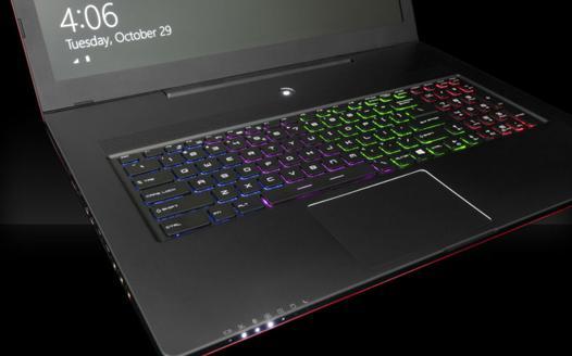 pc portable clavier lumineux