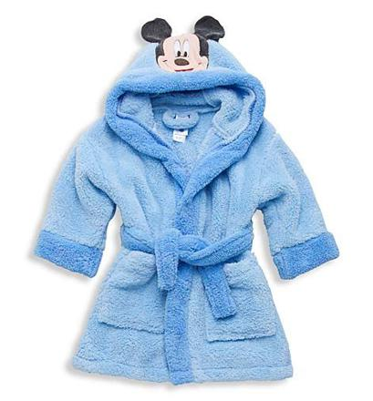 peignoir disney bebe