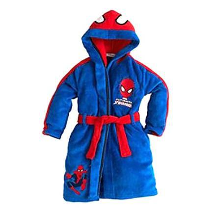 peignoir enfant spiderman