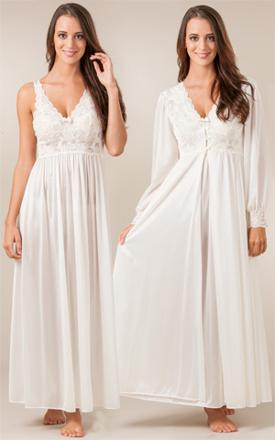 peignoir nightgown