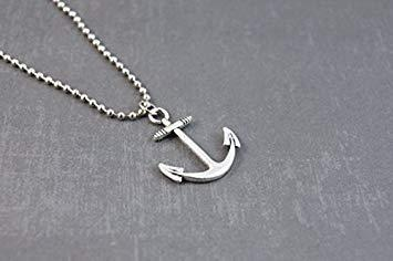 pendentif ancre homme