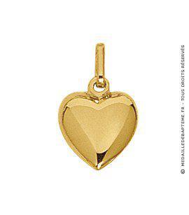 pendentif coeur or