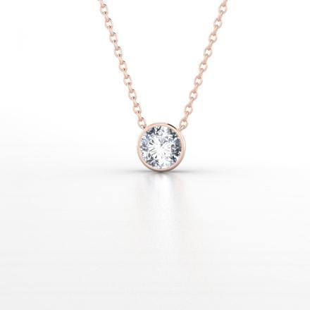 pendentif or et diamant femme