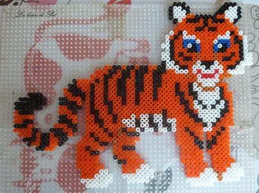 perle a repasser tigre