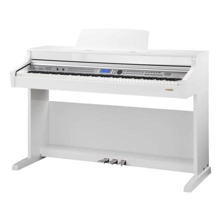 piano electrique blanc