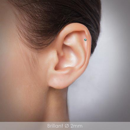 piercing helix argent