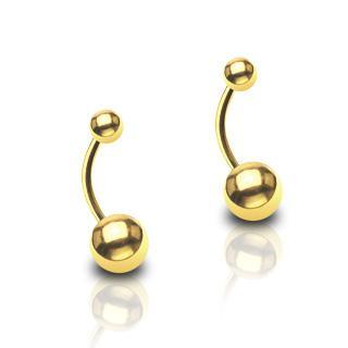 piercing plaqué or