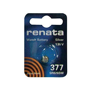 pile bouton 377 renata