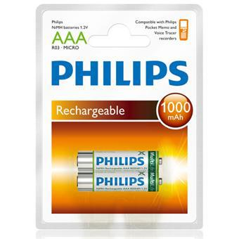 piles rechargeables philips