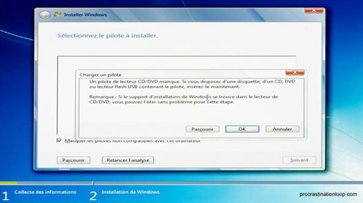 pilote lecteur dvd windows 7