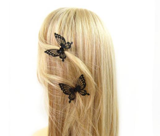 pince papillon pour cheveux