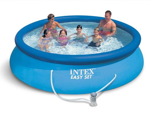 piscine hors sol intex easy set