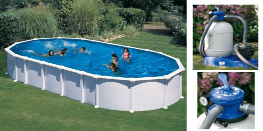 piscine hors sol metal rectangulaire