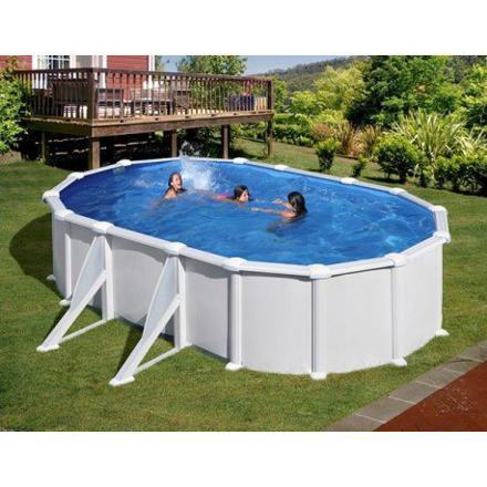 piscine hors sol ovale acier