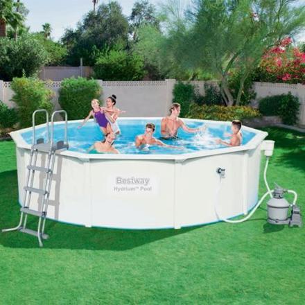 piscine hors sol ronde bestway