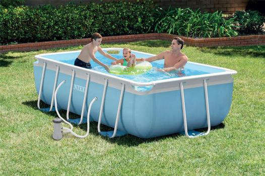 piscine intex prism