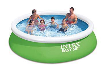 piscine intex verte