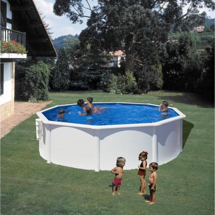 piscine octogonale acier